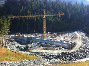 Hydroelectric Dam Construction